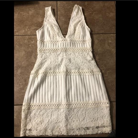 Forever 21 Dresses White Bachelorette Party Dress Size Medium